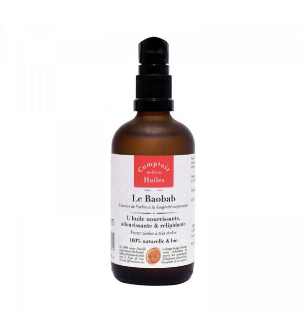 Comptoir des huiles - L'Huile végétale bio - Baobab - Comptoir des Huiles 50 ml