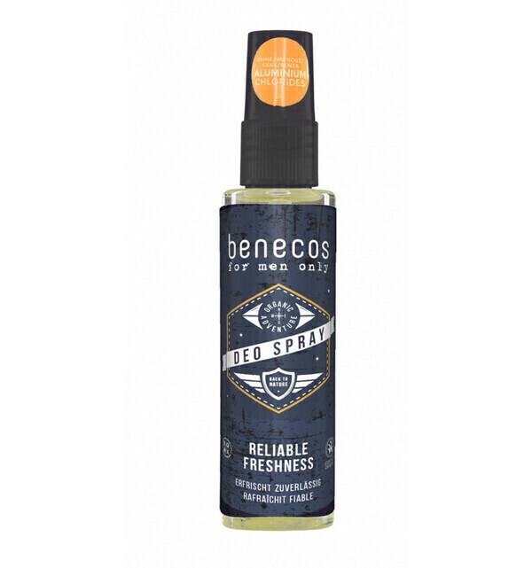 Benecos - Déodorant Bio en Spray pour Homme - 75ml  - Benecos