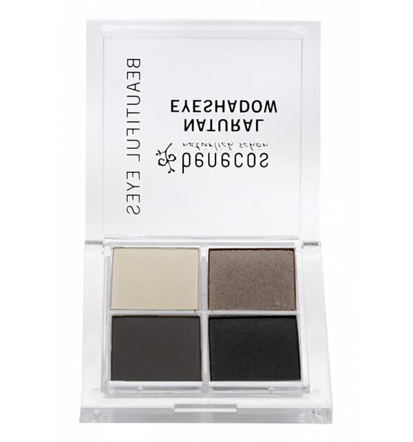 Benecos - Fard à paupières 4 couleurs Bio - Smocky Eyes - Benecos