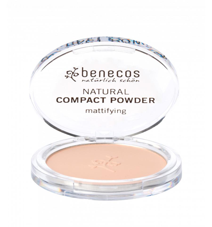 Benecos - Poudre Compacte Bio 9gr - Teinte Sand - Benecos