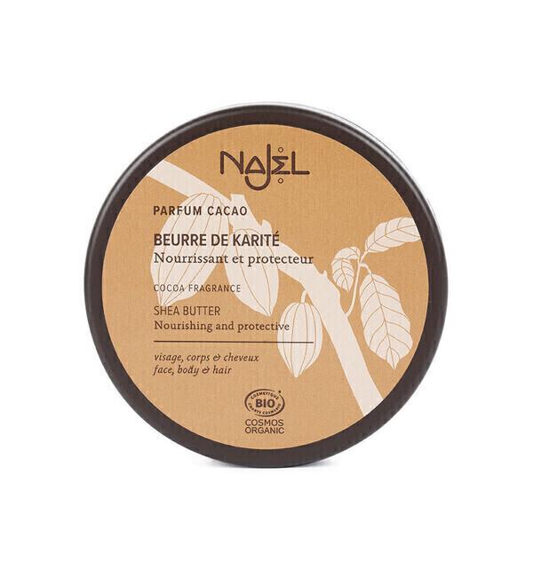 Najel - Beurre de Karité bio au cacao 100g - Najel