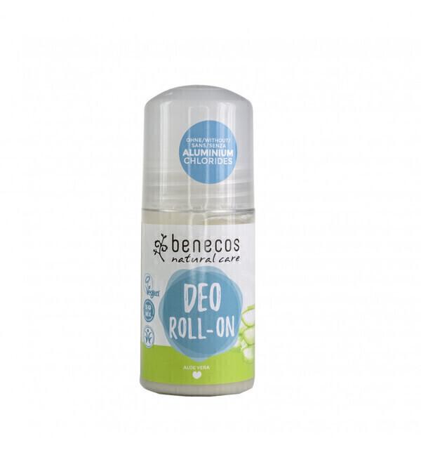 Benecos - Déodorant Roll On Bio Homme/Femme à l'Aloe Vera 50ml - Benecos