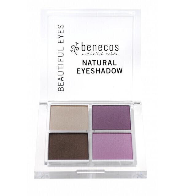 Benecos - Fard à paupières 4 couleurs Bio - Beautiful Eyes - Benecos