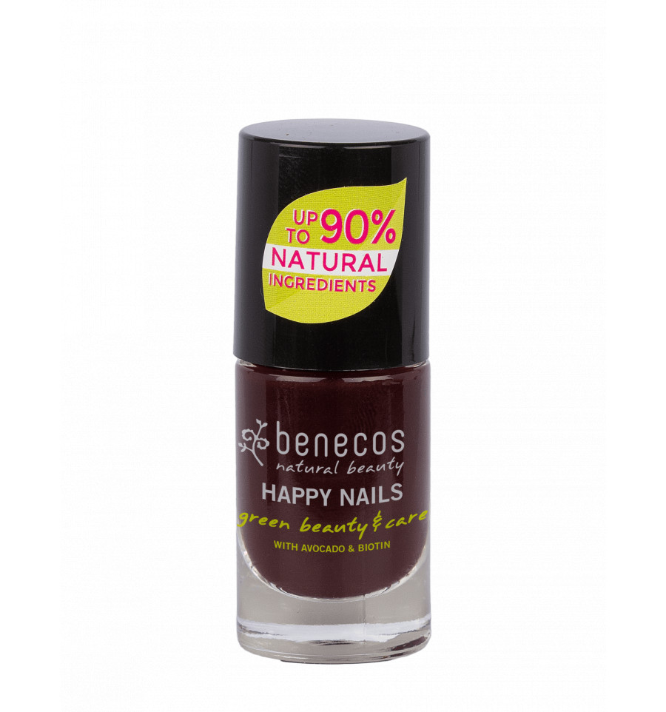 Benecos - Vernis à ongles Bio et Végan 5ml - Vamp - Benecos