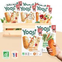 Yooji - Bâtonnets de légumes BIO à manger main - bébé 12 mois
