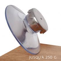 Celsius & milligrammes - Porte-savon Aimanté pour savon jusqu'à 250gr avec ventouse