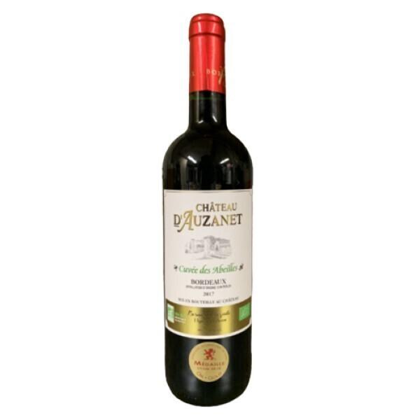 Vinaccus - bordeaux rouge bio, châteaux d'Auzanet 2018 1 bouteille
