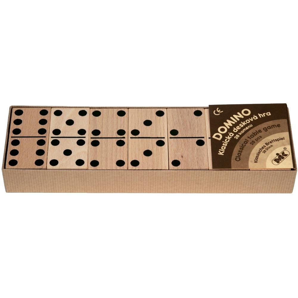 Mik toys - Jeu de domino en bois