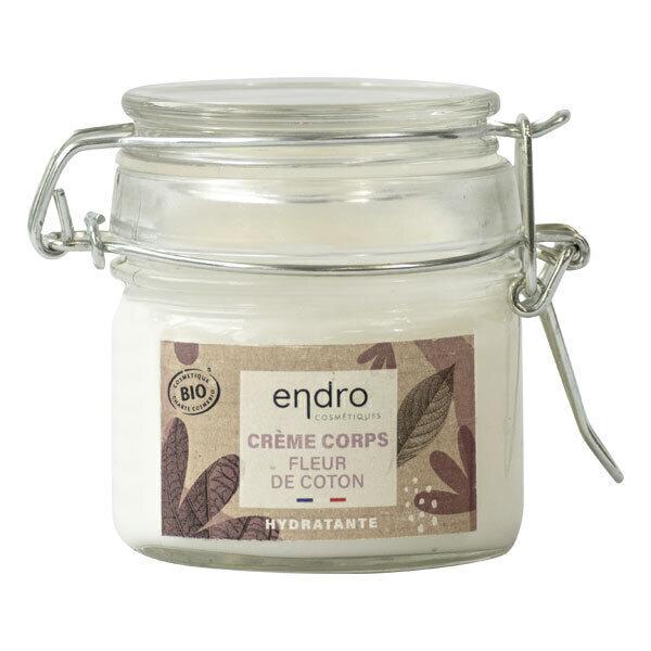 Endro Cosmétiques - Crème corps hydratante à la fleur de coton 100ml