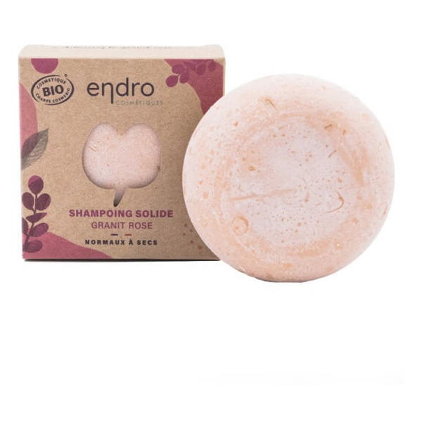 Endro Cosmétiques - Shampoing solide argile rose 80g