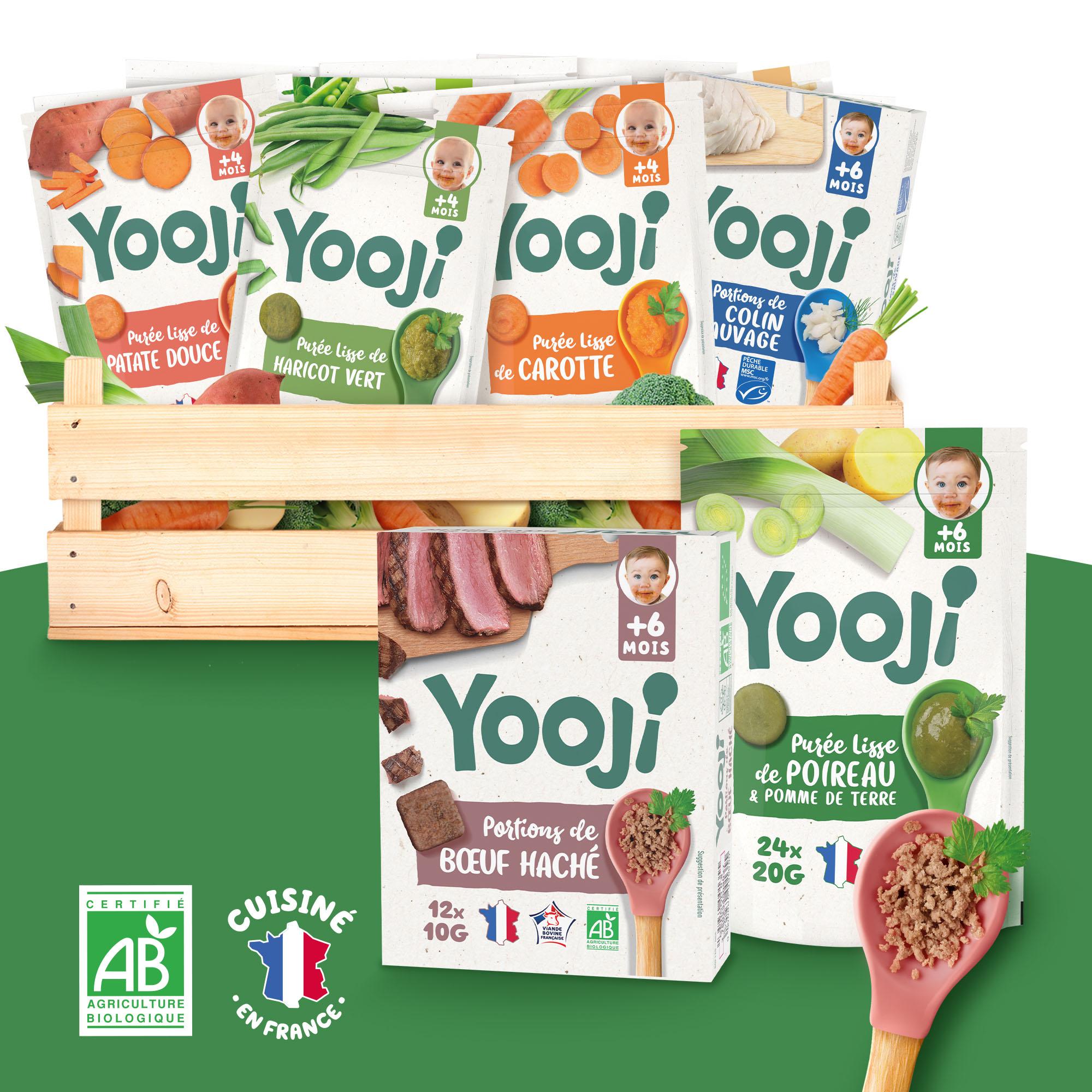 Yooji - 3 mois de repas - Plus de 100 recettes possibles - bébé 6 mois