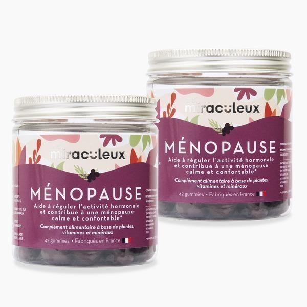 Les Miraculeux - Gummies Ménopause Duo | 2 x 21 jours