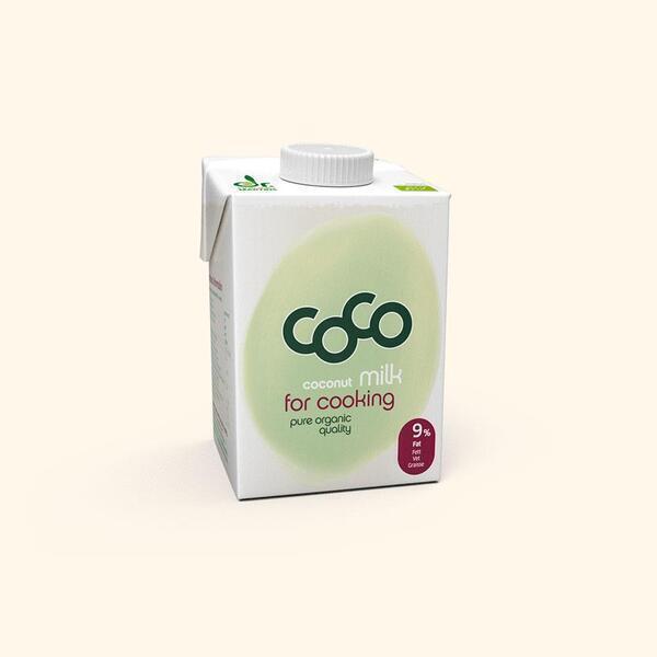 Dr. Antonio Martins - Lait de coco à cuisiner Bio - 50cl