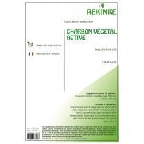 Rekinke - Charbon végétale activé écologique 180 gélules Rekinke