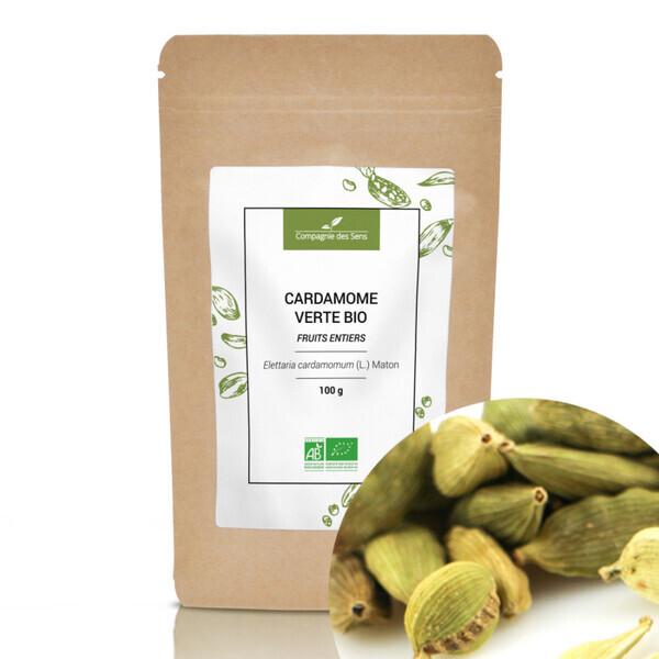 Compagnie des Sens - Cardamome verte BIO - Fruits entiers - 100g
