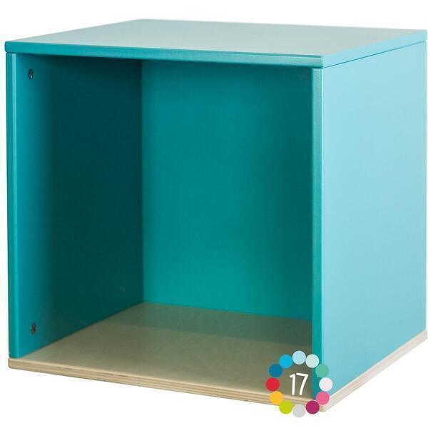 Wookids - Cube mural COLORFLEX p blue