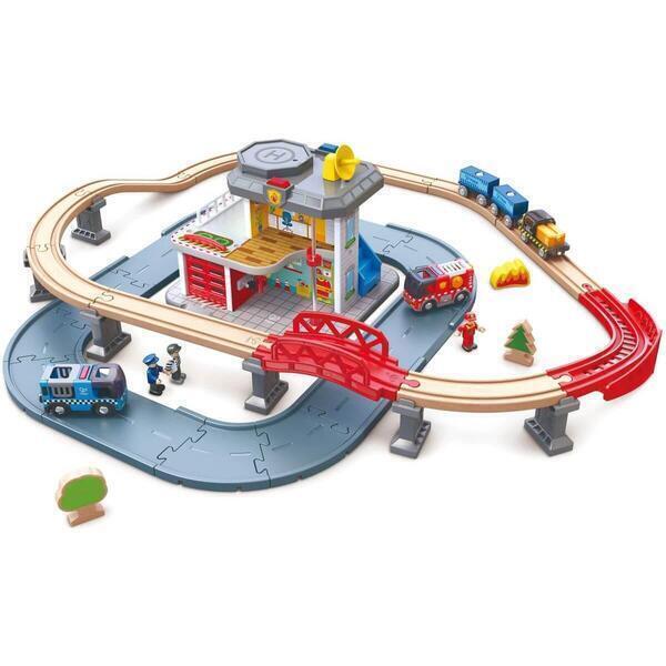 Hape - Accessoires circuit de train EMERGENCY