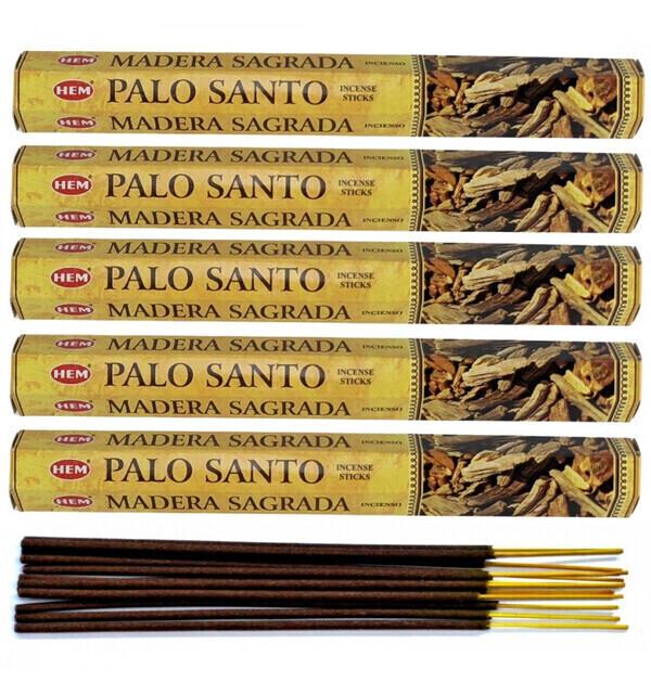 HEM - Encens Palo Santo. Lot de 100 bâtonnets marque HEM