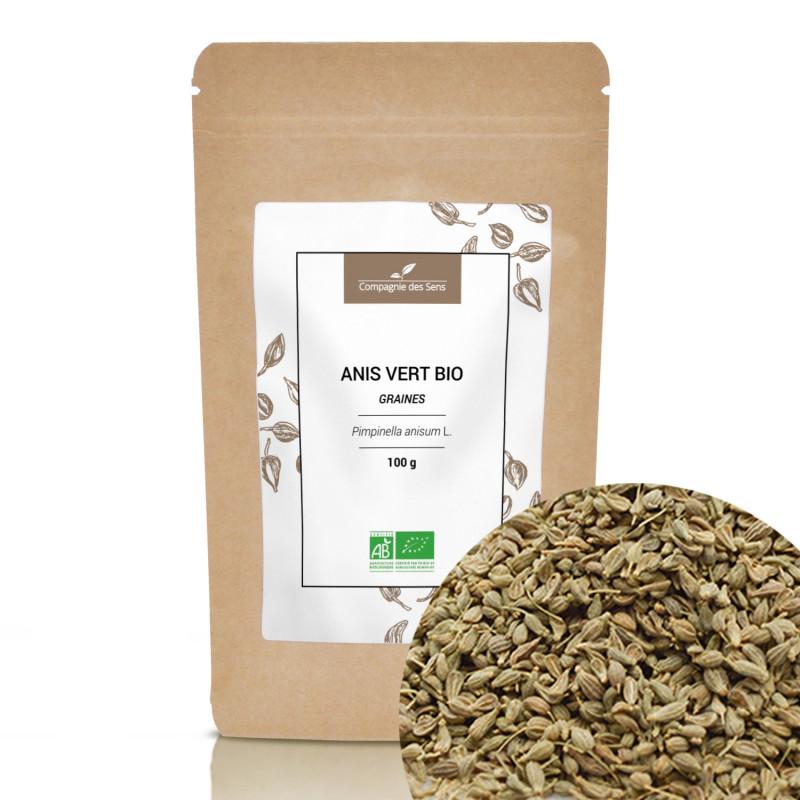 Compagnie des Sens - Anis vert BIO - graines entières - 100g