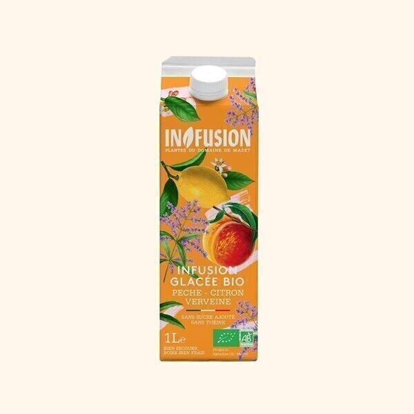 Infusion - Infusion Glacée Pêche Citron Verveine Bio - 1L