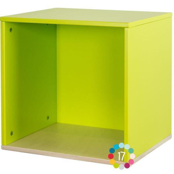Wookids - Cube mural COLORFLEX lime