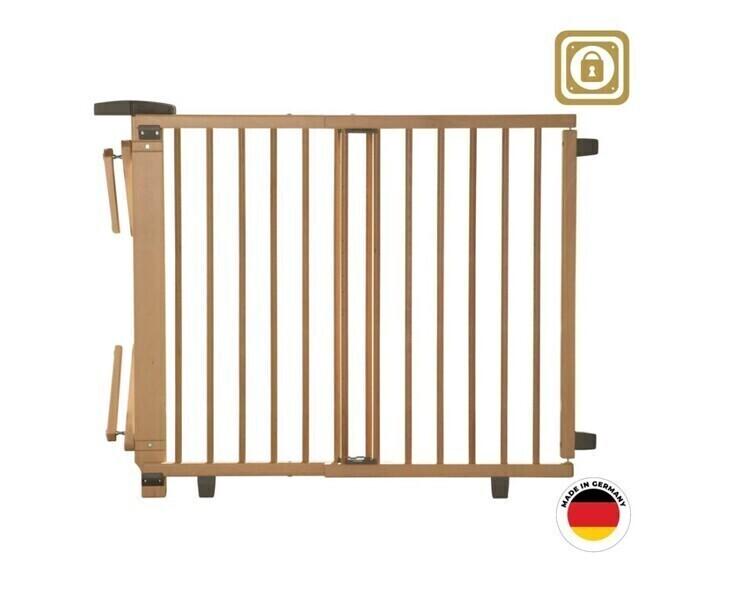 Geuther - Barrière d'escalier pivotante en bois 95 cm - 135 cm
