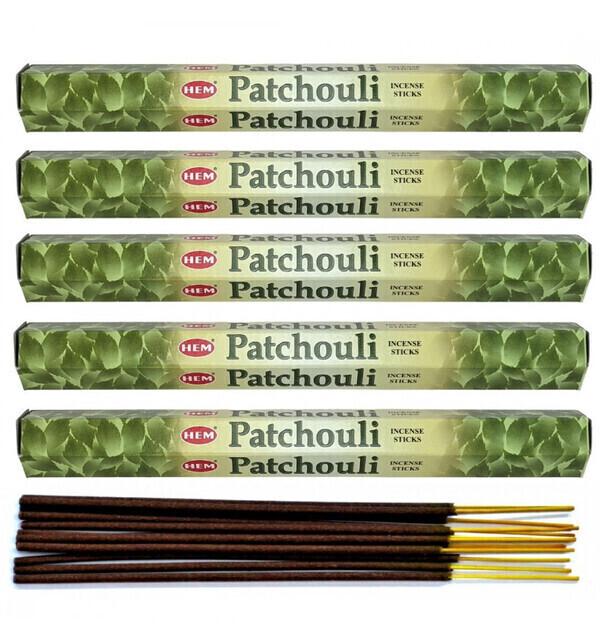 HEM - Encens parfum Patchouli Lot de 100 bâtons marque HEM