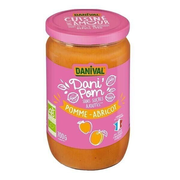 Danival - Dani'pom pomme-abricot 700g bio