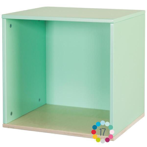 Wookids - Cube mural COLORFLEX mint