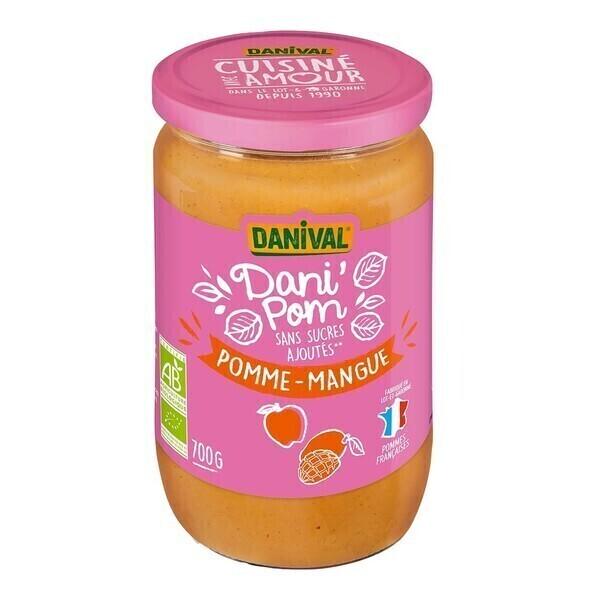 Danival - Dani'pom pomme-mangue 700g bio