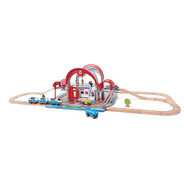 Hape - Circuit de train GRAND CITY STATION