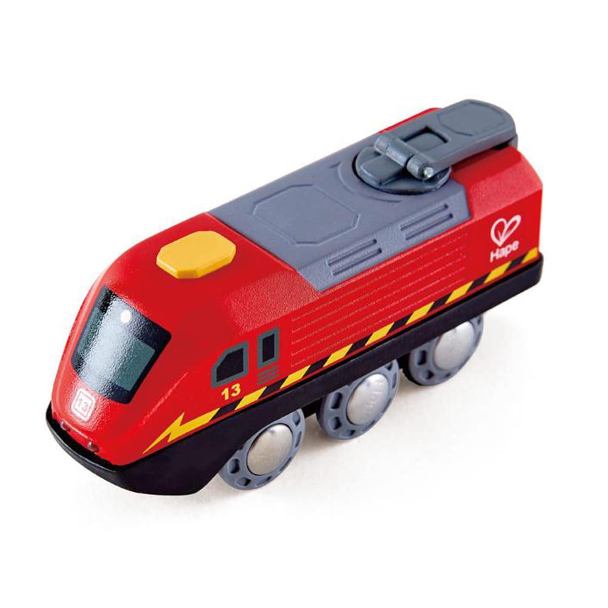 Hape - Locomotive CRANK-POWERED Hape