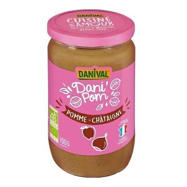 Danival - Dessert pomme châtaigne 700g