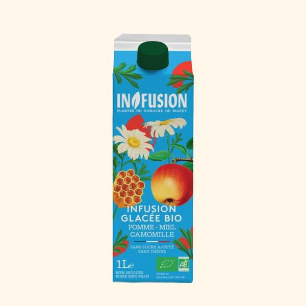 Infusion - Infusion Glacée Pomme Miel Camomille Bio - 1L