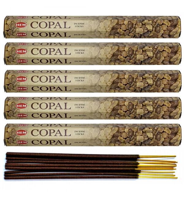HEM - Encens parfum Copal Lot de 100 bâtons marque HEM
