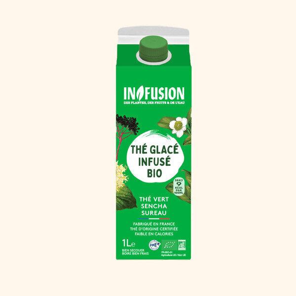 Infusion - Infusion - Thé vert Citron Fleur de sureau Bio 1L