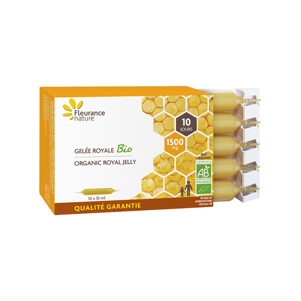 Fleurance Nature - AMPOULES GELEE ROYALE 1500 mg