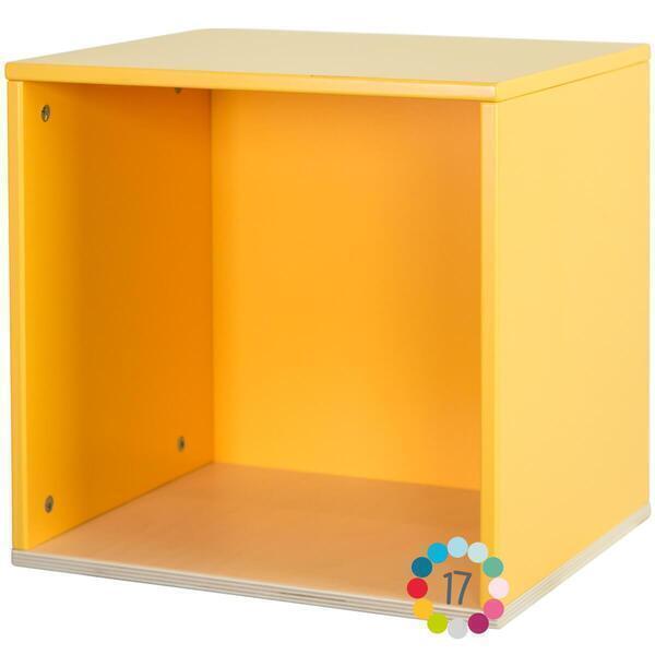 Wookids - Cube mural COLORFLEX n yellow