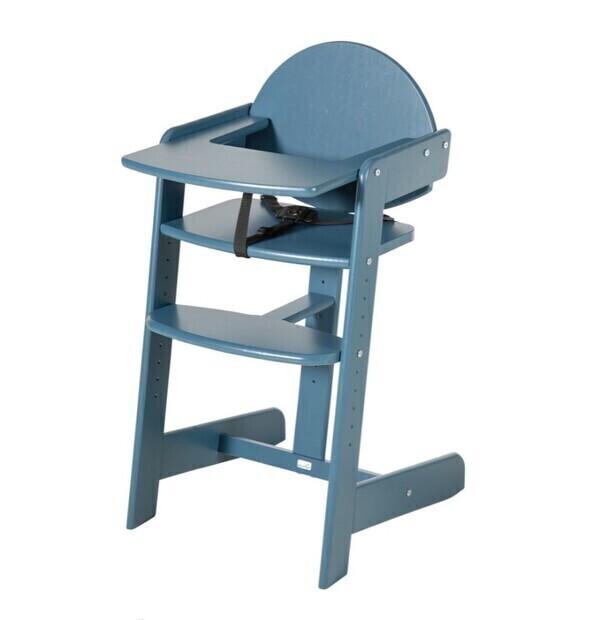 Geuther - Chaise haute FILOU UP gris 49.5x44.6x86.2 cm