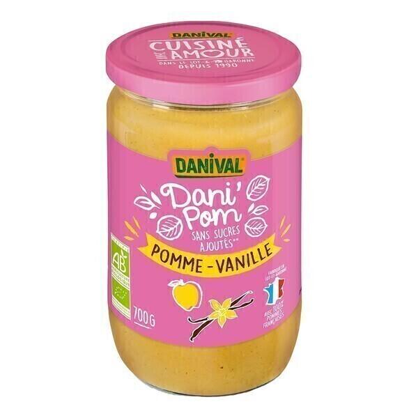 Danival - Dani'pom pomme-vanille 700g bio
