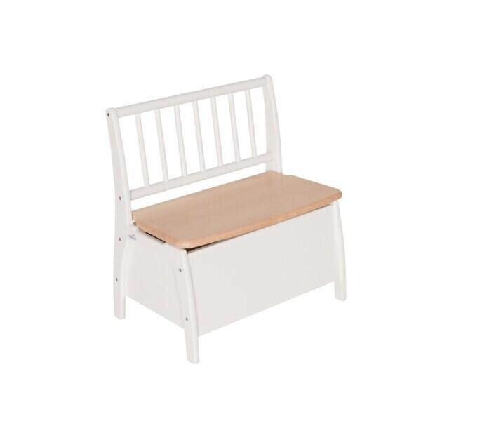 Geuther - Banc coffre à jouets Bambino blanc 58x35.8x60 cm