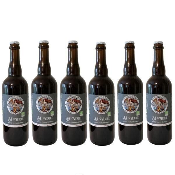 Vinaccus - Bière triple blonde Bé Verole - 6 bouteilles de 75cl