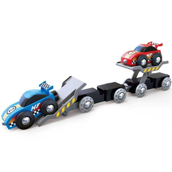 Hape - Camion voitures de course RACE CAR Hape