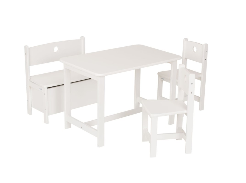 Geuther - Ensemble table et chaise Pepino bois blanc