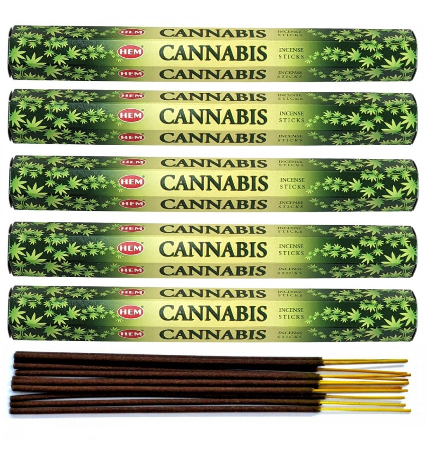 HEM - Encens parfum Cannabis Lot de 100 bâtons marque HEM