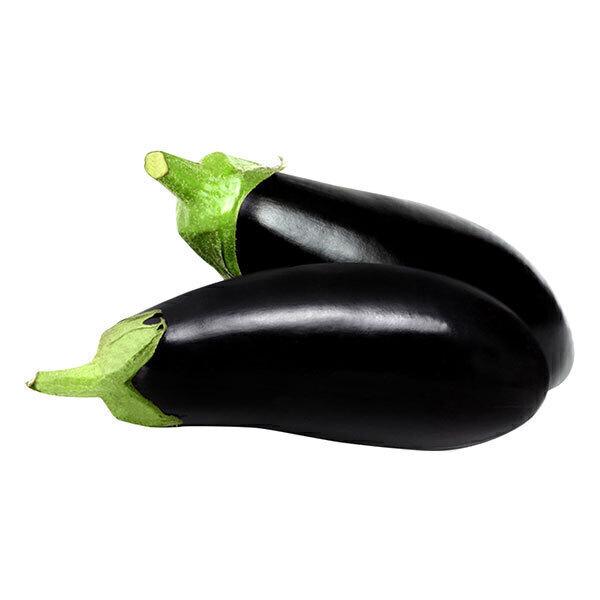 Fruits & Légumes du Marché Bio - Aubergine noire. France