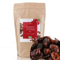 Compagnie des Sens - Cranberries infusées au jus de pomme BIO  - 1kg