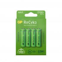 GP Batteries - Pack de 4 piles rechargeable Recyko+ AA/LR6 - 2000mAh