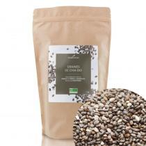 Compagnie des Sens - Graines de Chia BIO - Graines en vrac - 1kg