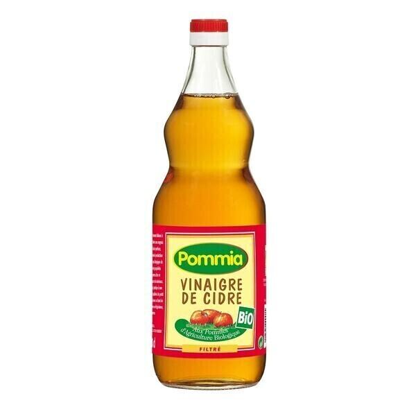 Pommia - Vinaigre de cidre filtré 5° 1l bio